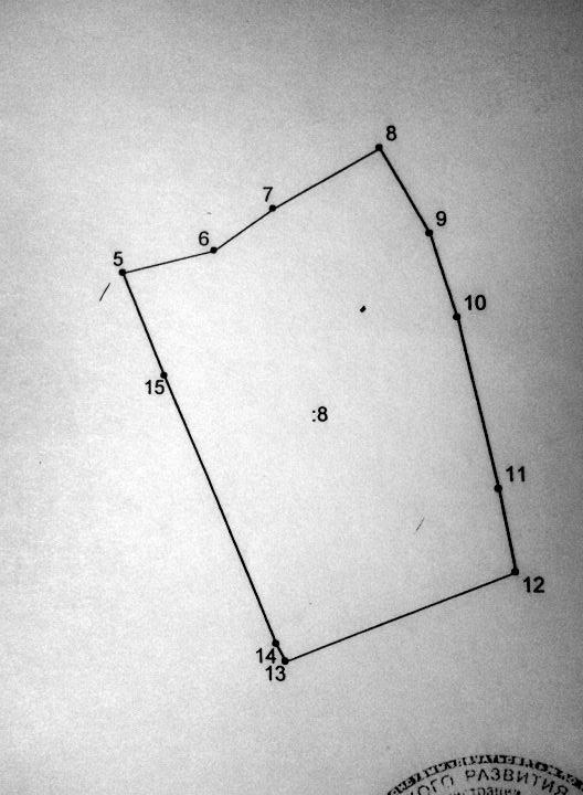 Схема расположения земельных