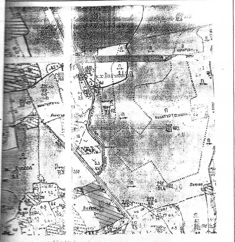 План участка, 250 000